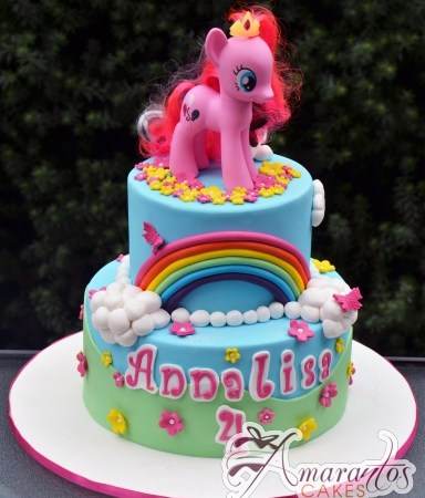 Two tier My Little Pony Cake – NC672