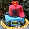 Super hero cake - NC695 - Amarantos Celebration Cakes Melbourne