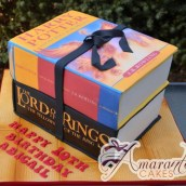 Harry Potter and Lord of the Rings Cake - Amarantos Designer Cakes Melbourne