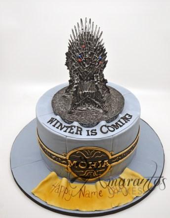 Games of Thrones 3D Cake - Amarantos Designer Cakes Melbourne