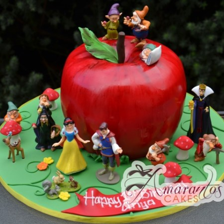 3D Apple with Snow White – NC723
