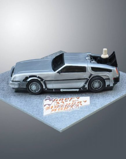 3D Delorean from Back to the Future – NC787D
