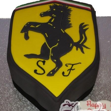 Ferrari Badge – NC93