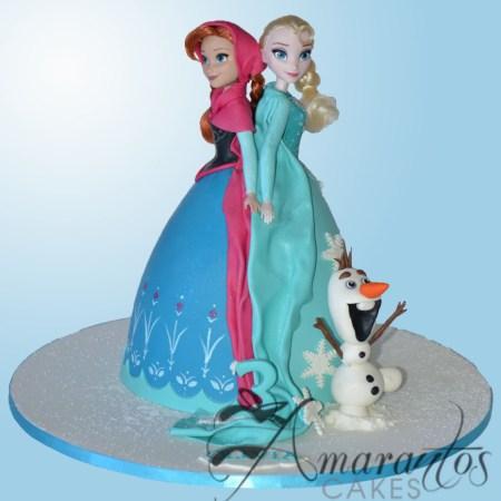 Elsa/Anna Doll Cake – NC94