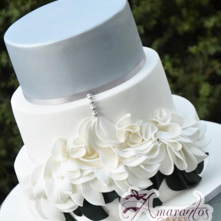 Three Tier Cake - WC121 - Birthday Cakes Melbourne