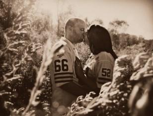kiss in field faded dereg no logo
