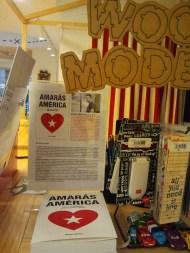'Amarás América', en Librería Educania (C/ Sociedad, Murcia)