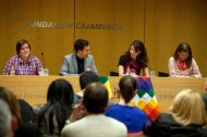Presentación de Amarás América en Las Claras (Cajamurcia)
