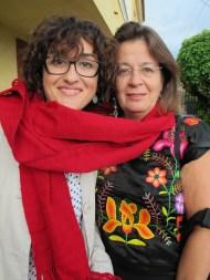 Gloria Nicolás y Teresa Martín
