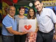 Manuel Madrid, María García, Ilka Lomonaco y Miguel
