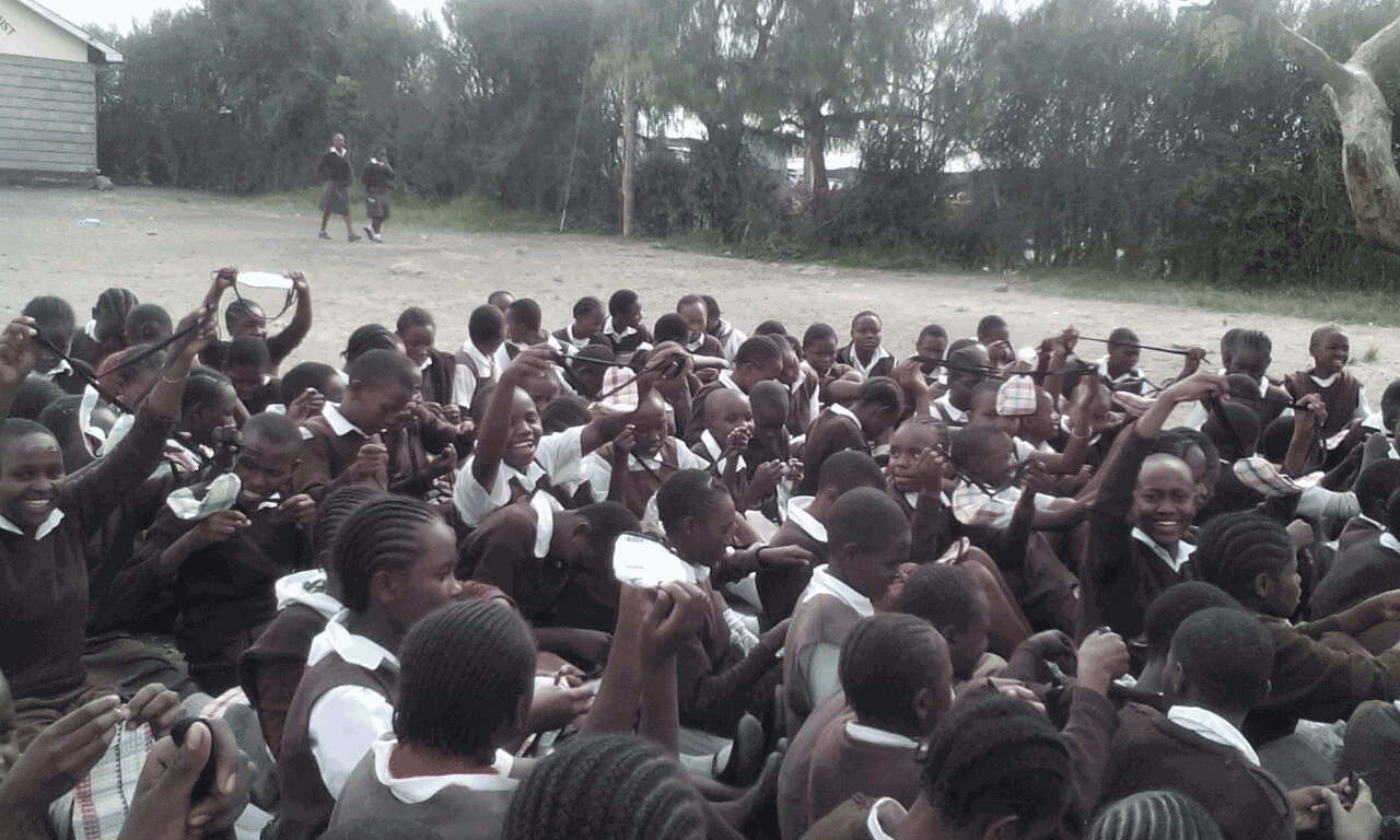 Sanitary-towels-donation,-following-a-Hygiene-and-Cleanliness-Workshop