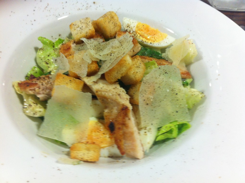 caesar salad - highly recommended