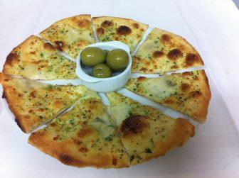 Home made Scilian sytle Garlic Bread