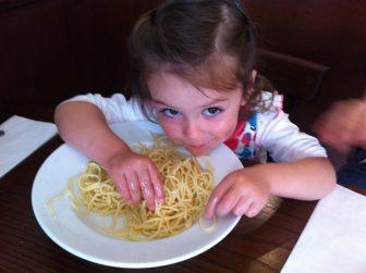 How I eat my spaghetti...