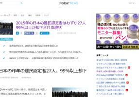 I profughi del Giappone 「日本への難民・Nihon heno Nanmin」