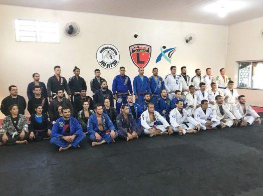 Foto dos participantes do Workshop