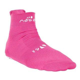 calcetines antideslizantes rosa 1