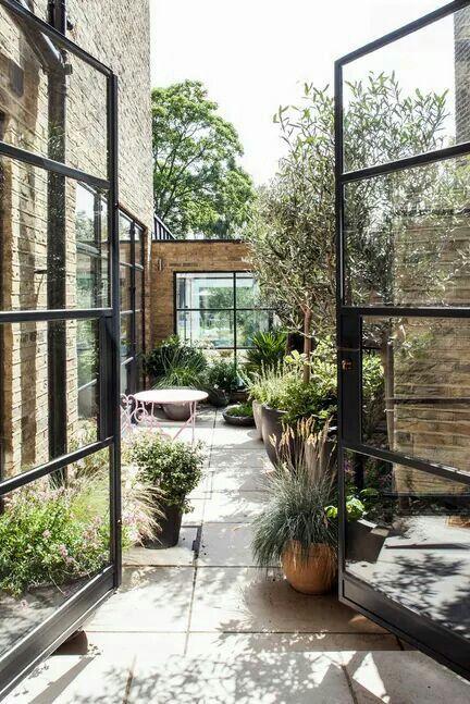 decoración para terrazas de verano con plantas