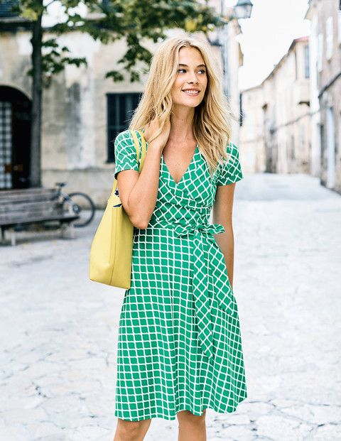 wrap dress informal