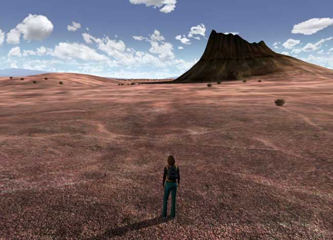 Uru - opening screenshot - the desert