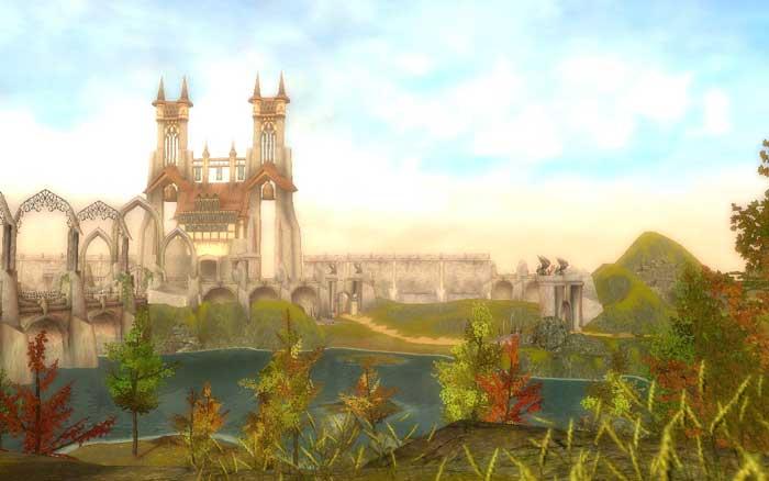 Guild Wars Prophesies - presearing - lovely view