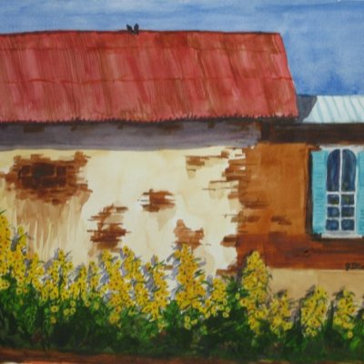 Updated Time: Watercolors with Janette Dickerson Starting February 17, 2015