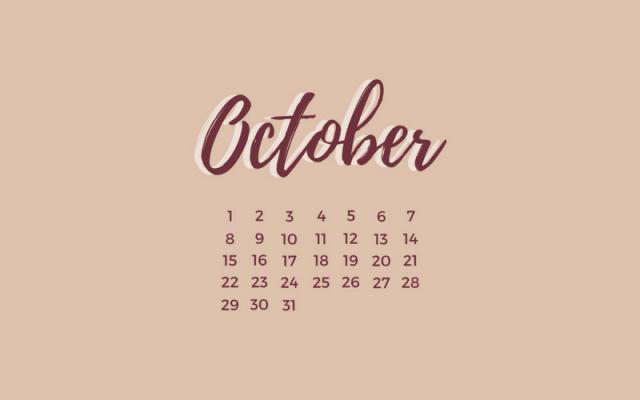 Freebie: October Desktop Wallpaper 3
