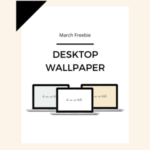 Freebie: March Desktop Wallpaper 8