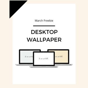 Freebie: March Desktop Wallpaper 4