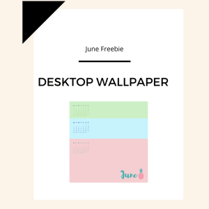 Freebie: June Desktop Wallpaper 1