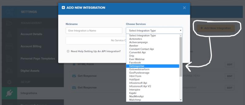 add-new-integration-getresposne-to-clickfunnels