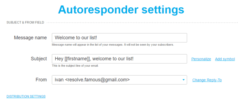 How to Set Up Your Autoresponder on GetResponse