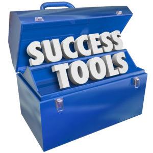Success Tools Toolbox Succeeding Goal Skills