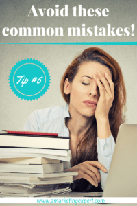 Avoid these common book marketing mistakes