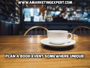 plan a book event