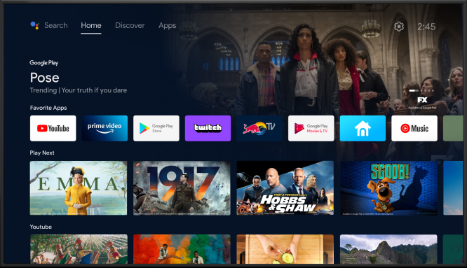 Android TV app design in four insights. Haier case