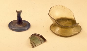 Roman glass: Glassware was a signature find at the Monastery – immediately distinguishable from Amarna period glass in its fineness & transparency. It has recently been published by Jane Faiers: www.ees-shop.com/index.php?main_page=product_info&cPa...