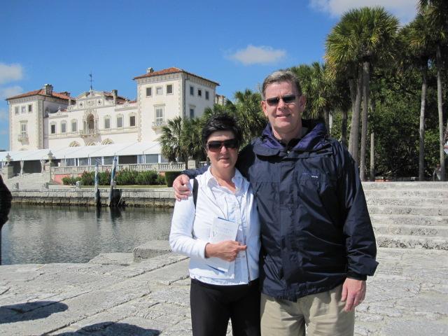 My parents in miami