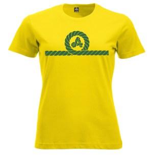 camiseta mujer amarras
