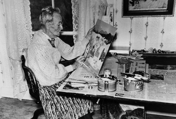 Grandma Moses started painting at 76 years of age. You can find happiness after 40.