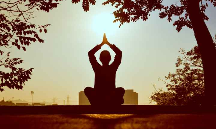 Meditation can make you happier.