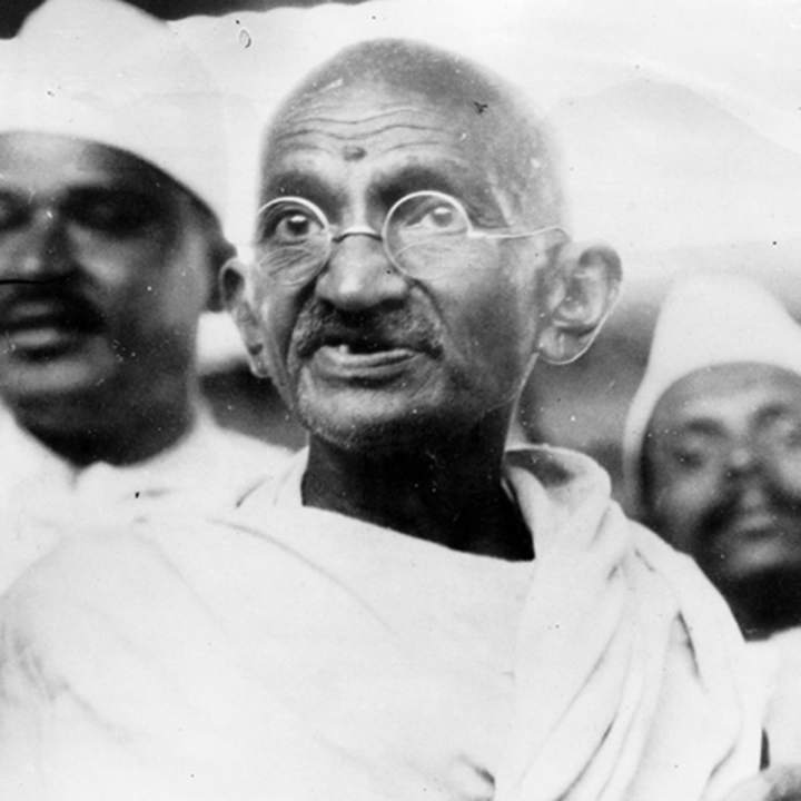 """Be the change you want to see."" -One of the powerful motivational quotes by Gandhi"