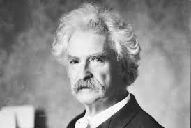 Mark Twain was a man of unusual intelligence, and hence inspiring.