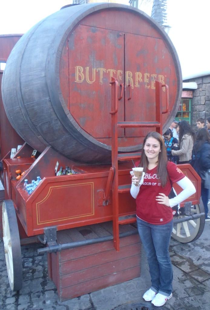 Butterbeer Barrel Wagon Islands of Adventure