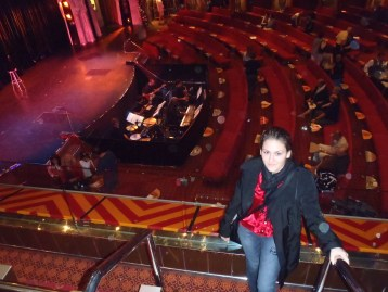 Large Theatre Before The Show
