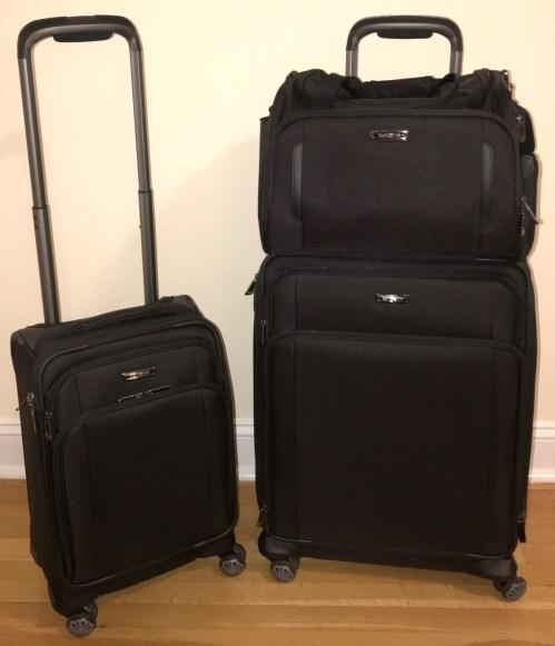 Samsonite Silhouette XV Soft Shell Luggage Medium International Carry On Boarding Bag