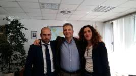 Luigi Vacana,Massimiliano Smeriglio,Daniela Bianchi
