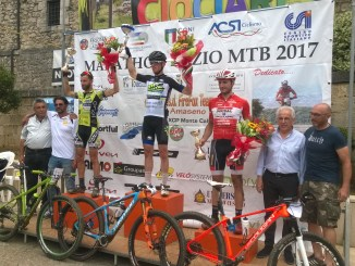 Podio Marathon Montecalvo 2017