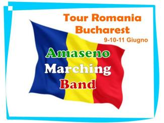 Amaseno Harmony Show Band tour Bucarest 2017