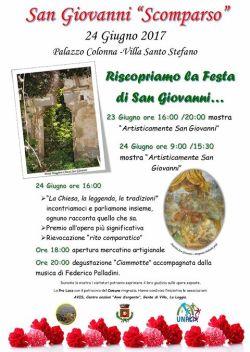 San Giovanni scomparso